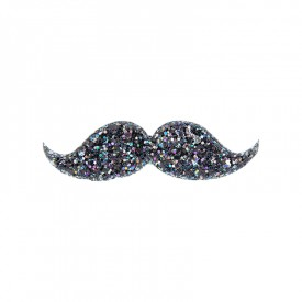 barrette moustache