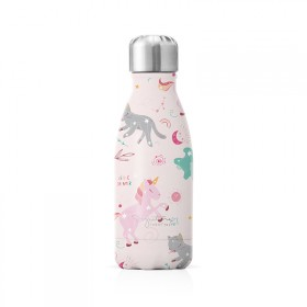"""Petite bouteille isotherme """"Licorne"""" gourde"""