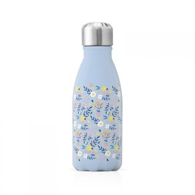 """Petite bouteille isotherme """"Liberty bleu"""" gourde"""
