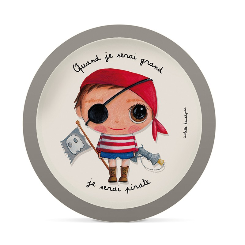 Vaisselle bambou pirate