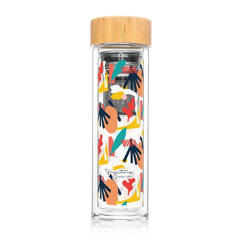 Bouteille infuseur bambou