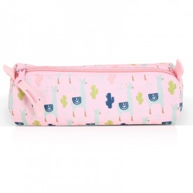 Trousse Lama rose by Label'tour créations