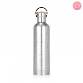 Bouteille isotherme inox Hibou by Label'tour créations
