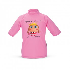 Tee-shirt anti-UV Princesse 4/5 ans by Isabelle Kessedjian