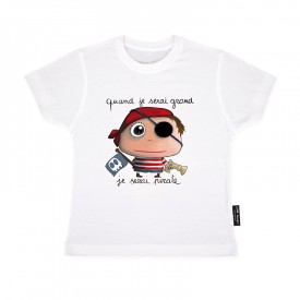 Tee-shirt Pirate 4/5 ans by Isabelle Kessedjian