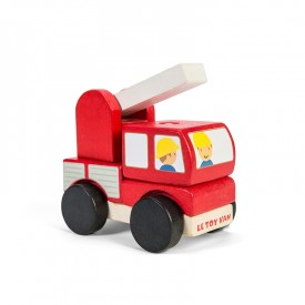 Camion de Pompiers Empilable by Le toy van
