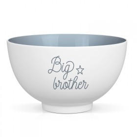 "Bol en porcelaine ""Big brother"""