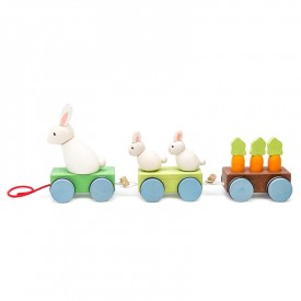 Le Train de la Famille Lapin by Le toy van