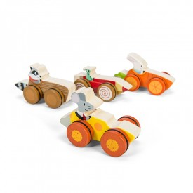 La Course des Bois (assortiment de 8) by Le toy van