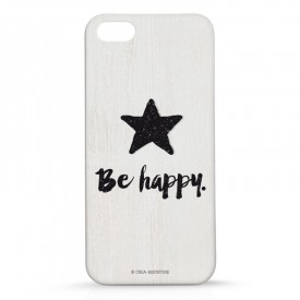 Coque Iphone 5 : Be Happy by Créa bisontine