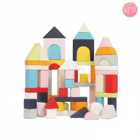 Blocs de construction en bois by Le toy van