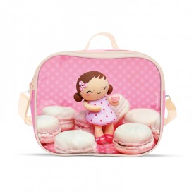 Lunch bag Mademoiselle macarons by Missbonbon