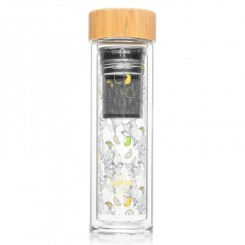 """Bouteille infuseur """"Agrumes"""" by Label'tour créations"""